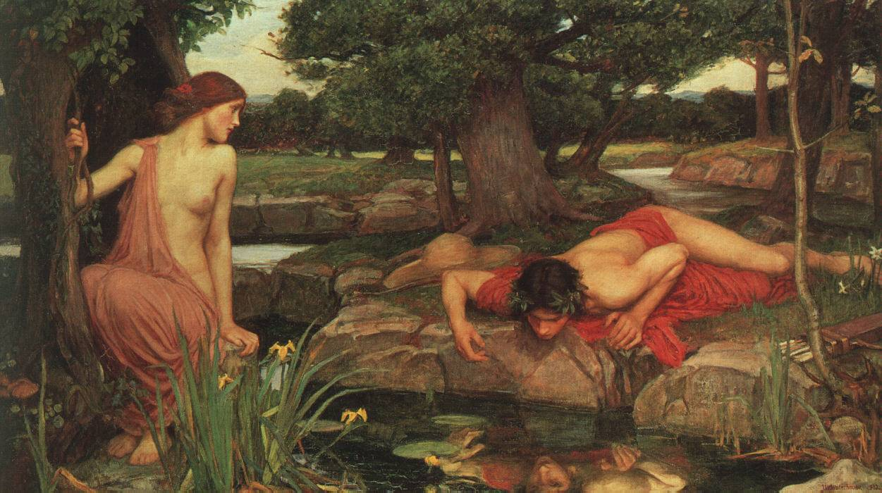 John William Waterhouse, Echo und Narziss