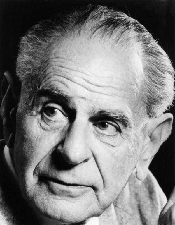 Karl Popper in den 1980er Jahren. Schöpfer des Begriffs der »offenen Gesellschaft«