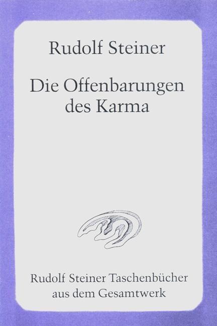 Steiner, Offenbarungen des Karma