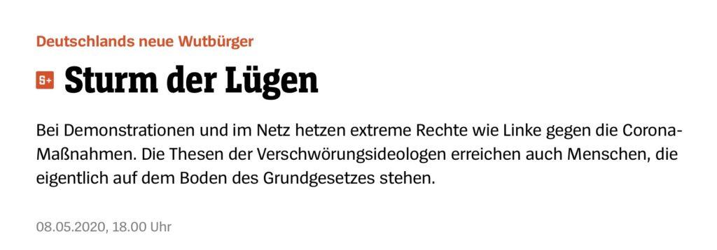 Spiegel Screenshot