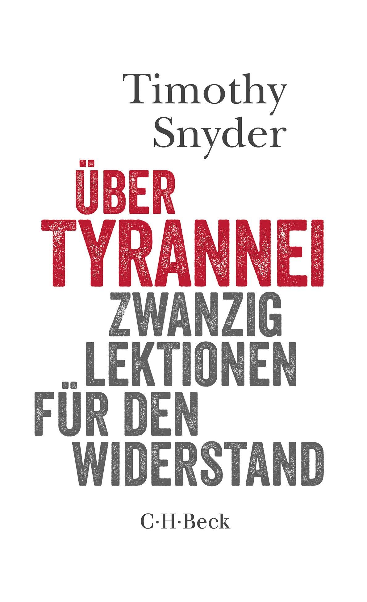 Snyder, Tyrannei