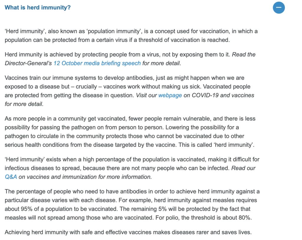 Was ist Herdenimmunität
